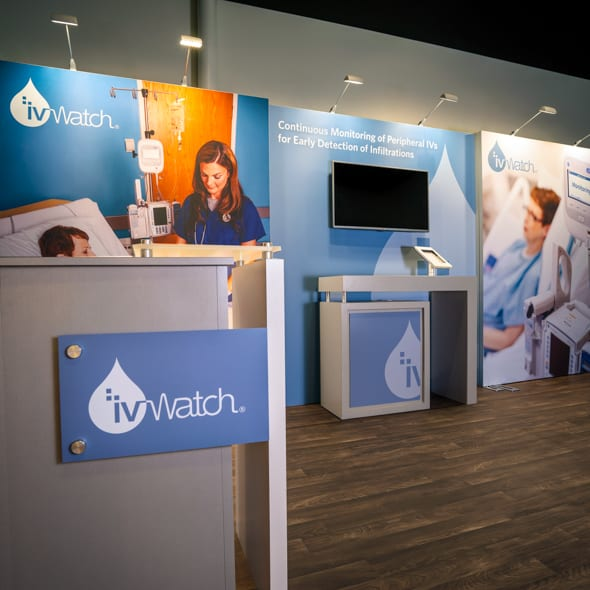 10x20 trade show display ivwatch