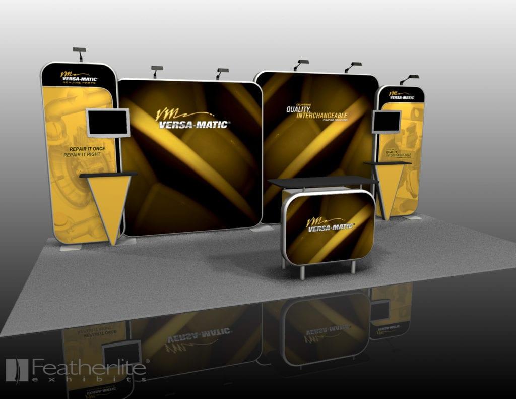 10x20 Modular Fabric Display