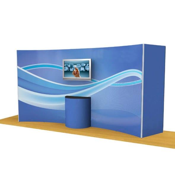 Lightweight Modular Touchscreen Exhibit
