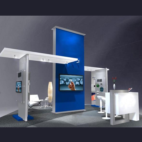 Island Touchscreen Exhibit